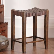 "Saddler 26"" Counter Stool in Walnut Stain"