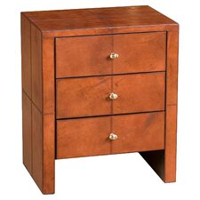 Barrister's 3 Drawer Nightstand