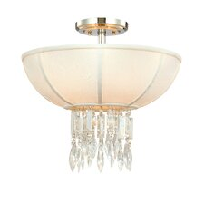 Cascade 3 Light Semi Flush Mount