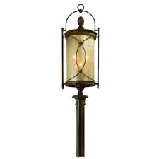 St. Moritz 6 Light Outdoor Post Lantern