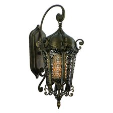 Tangiers 1 Light Wall Lantern