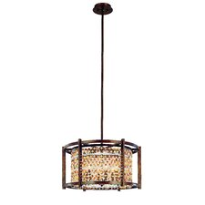 <strong>Corbett Lighting</strong> Karma 6 Light Drum Pendant