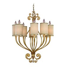 <strong>Corbett Lighting</strong> Pinot 8 Light Chandelier