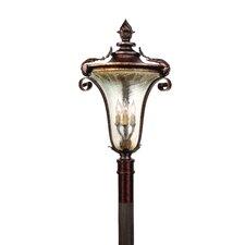 Pirouette 3 Light Outdoor Post Lantern