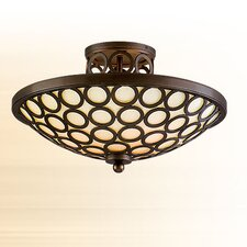 Bangle 3 Light Semi Flush Mount