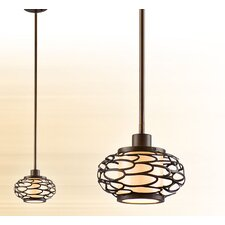 <strong>Corbett Lighting</strong> Cesto 1 Light Mini Pendant