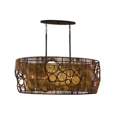 Havana 6 Light Ceiling Island Pendant