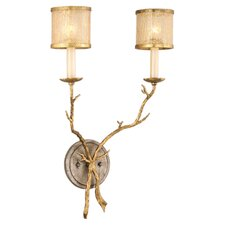 <strong>Corbett Lighting</strong> Parc Royale 2 Light Wall Sconce