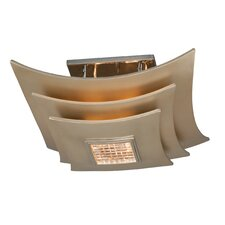 <strong>Corbett Lighting</strong> Muse 3 Light Semi-Flush Mount