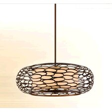 <strong>Corbett Lighting</strong> Cesto 5 Light Drum Pendant
