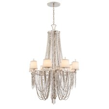 <strong>Corbett Lighting</strong> Flirt 8 Light Crystal Chandelier