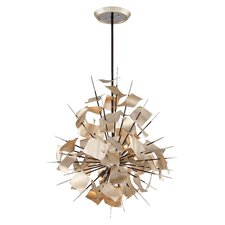 <strong>Corbett Lighting</strong> Poetry 6 Light Pendant