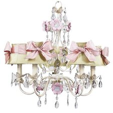 <strong>Jubilee Collection</strong> Flower Garden Chandelier with Optional Shade
