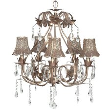 <strong>Jubilee Collection</strong> Ballroom Chandelier with Optional Shade