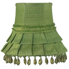 "5"" Dupioni Silk Bell Lamp Shade"