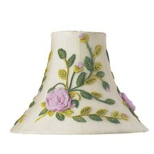 Rose Net Flower Shade in Ivory