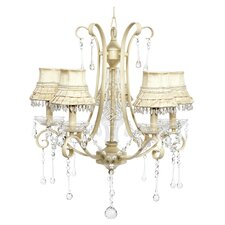 <strong>Jubilee Collection</strong> Colleen 5 light Crystal Chandelier