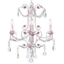 <strong>Jubilee Collection</strong> Valentino 4 Light Chandelier
