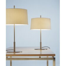 "Diana Menor 25.9"" H Table Lamp with Empire Shade (Set of 2)"