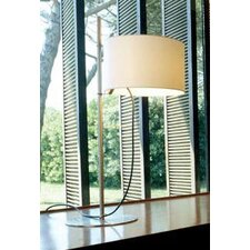 TMD Table Lamp with white linen shade