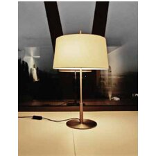 "Diana 25.7"" H Table Lamp with Empire Shade"