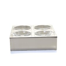 Mono Accessories Square Table-Element Salad Bowl