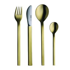 <strong>mono</strong> Mono-A Edition 50 Collection, Goldplated 4-Piece Set by Peter Raacke