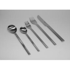 <strong>mono</strong> Mono-A 20 Piece Flatware Set with Long Blade Table Knife and Giftbox by Peter Raacke