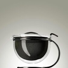 Mono Filio Edition Teapot in Black Polished by Tassilo von Grolman