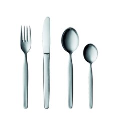 20 Collection Stainless Steel 5 Piece Flatware Set