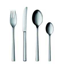 25 Collection Stainless Steel 5 Piece Flatware Set