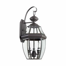 Carrington 3 Light Outdoor Wall Lantern