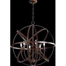 Celeste 6 Light Candle Chandelier