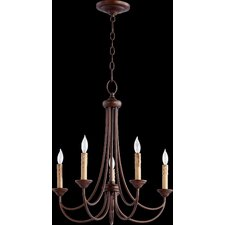 Brooks 5 Light Candle Chandelier