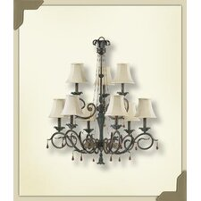 <strong>Quorum</strong> Wainwright 9 Light Chandelier