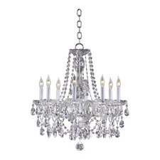<strong>Quorum</strong> Bohemian Katerina 8 Light Chandelier