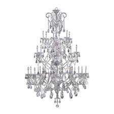 Bohemian Marien 24 Light Chandelier