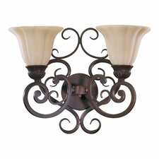 Coronado 2 Light Wall Sconce