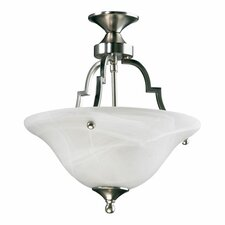 <strong>Quorum</strong> Coventry 2 Light Convertible Inverted Pendant