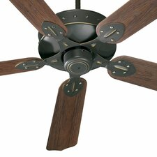 "<strong>Quorum</strong> 52"" Hudson 5 Blade Patio Ceiling Fan"