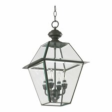 <strong>Quorum</strong> Duvall 4 Light Hanging Lantern