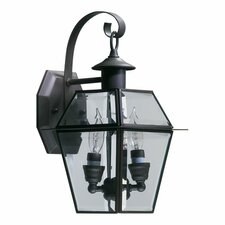 <strong>Quorum</strong> Duvall Outdoor Wall Lantern