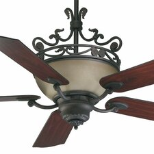 "56"" Turino 5 Blade Ceiling Fan with Wall Control"