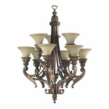 <strong>Quorum</strong> Madeleine 9 Light Chandelier