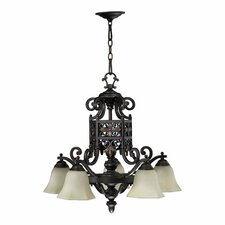 <strong>Quorum</strong> Marcela 5 Light Nook Chandelier