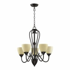 <strong>Quorum</strong> Powell 5 Light Chandelier