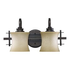 Prairie 2 Light Vanity Light