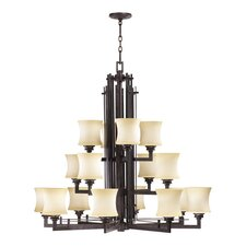 <strong>Quorum</strong> Prairie 16 Light Chandelier