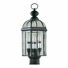 <strong>Quorum</strong> Wellsley 3 Light Post Lantern