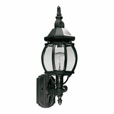 <strong>Quorum</strong> Croix 1 Light Outdoor Wall Lantern